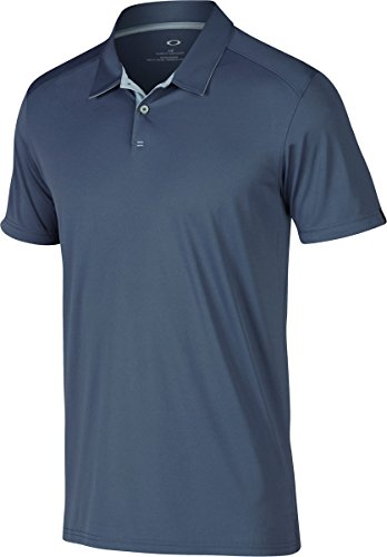Oakley Men's Divisional Polo, X-Large, Blue (Dxl Label)
