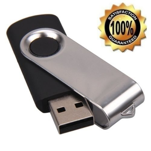 1TB (1000GB) USB 2.0 Flash Drive Memory Stick Swivel Model