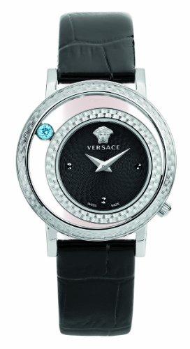 Versace Women's VDA010014 Venus Stainless Steel and Topaz Watch