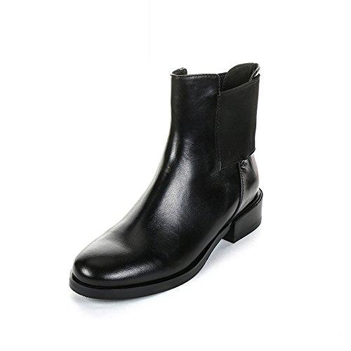 Clarks Marquette Wish - botines chelsea de cuero mujer Negro (Black Leather)