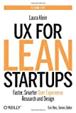 img - for UX for Lean Startups: Faster, Smarter User Experience Research and Design book / textbook / text book