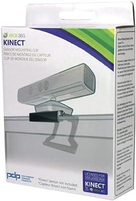 PDP - Soporte Clip Kinect Sensor TV (Xbox 360): Amazon.es: Videojuegos