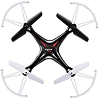 Syma X13 Top 4 Channel Remote Control Quadcopter 6-Axis Gyro With Headless Mode Helicopter Drone-Black