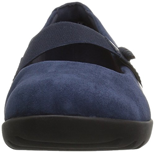 Clarks Womens Medora Frost Mary Jane Flat Navy