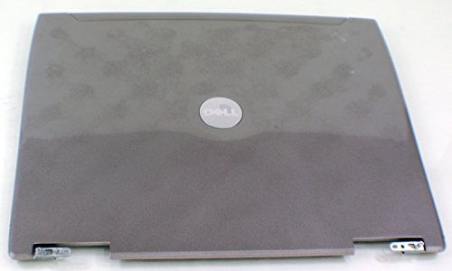 D4553 New OEM DELL Latitude D610 Laptop LCD Top Lid Rear Back Cover Panel Monitor Screen Case Hinge Assembly (Dell Latitude D610 Back Cover)