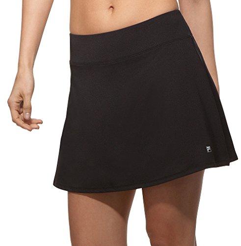Fila Athletic Shorts - Fila Women's Core Flare 15'' Skort, Black, M