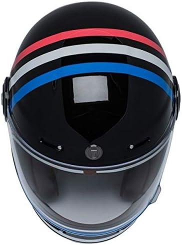 Integralhelm Torc T-1 Retro Americana Tron Vintage schwarz gl/änzend schwarz zugelassen ECE DOT Biker Motorrad Gr/ö/ße L