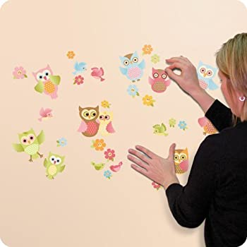 Baby Owl Wall Decals