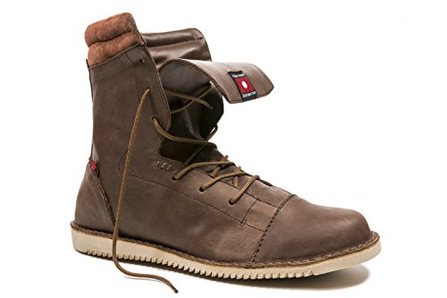 Oliberte Men's Ntoto Brown Yellow / Caramel 43/10 Boot by Oliberte