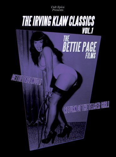 Klaw Ring - The Irving Klaw Classics, Volume 1: The Bettie Page Films by Bettie Page