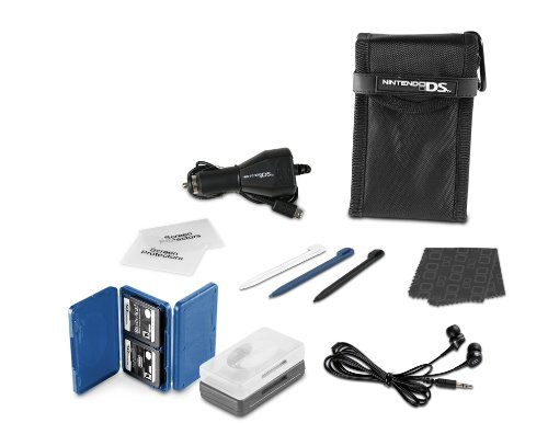 Nintendo DS Lite 15- in-1 Everyday Starter Kit - Black