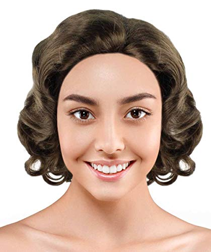 HalloweenPartyOnline Wig for Cosplay Mary Poppins Returns HW-2769