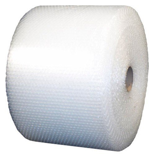 ValueMailers Medium Bubble Polyethylene Perforated Single Air Bubble Roll, VM51640024, 400' Length x 24'' Width, 5/16'' Thick, Clear by ValueMailers