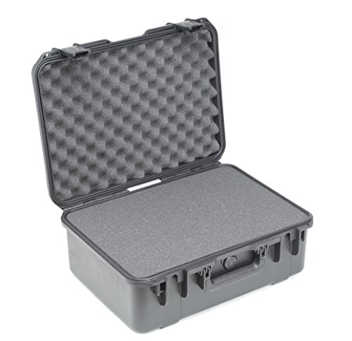 SKB Injection Molded Cubed Foam Equipment Case (18.5 x 13 x 7-Inch) by SKB