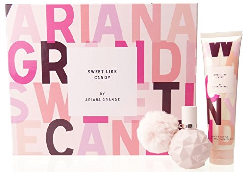 Ariana Grande Sweet Like Candy Eau de Parfum Gift Set and Body Lotion, 30/100 ml Designer Parfums AGSET1040