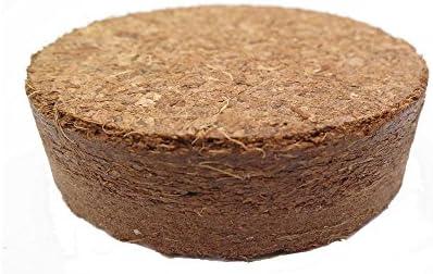 Kokosquelltabletten ca. Ø 35 mm, 250 Stück (Preis je Stück: 17 Cent), Kokosquelltöpfe, Kokosquellerde, torffreie Anzuchterde aus gepressten Kokosfasern, ergibt ca. 90 ml je Tablette