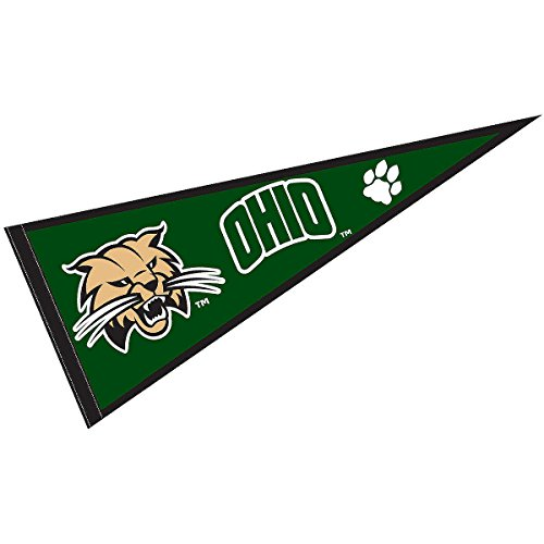 College Flags and Banners Co. Ohio University Pennant Full Size Felt