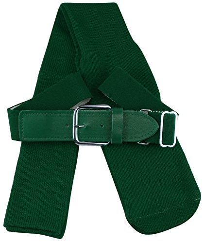 Large Green Dark (TCK Sports Baseball/Softball Belt & Socks Combo Set (Dark Green, Large))