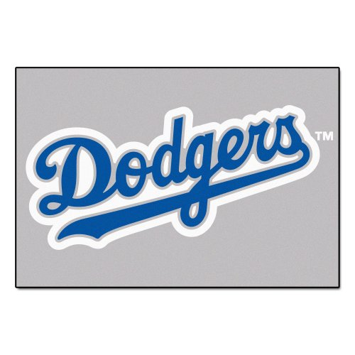 FANMATS MLB Los Angeles Dodgers Nylon Face Starter Rug