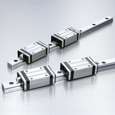 (NSK LAH45BN - Linear Guide Standard Ball Carriage Profile Rail - Series: LH, Long Block, 45 mm Rail Size, 171 mm Wide, Load Capacity: 99000)