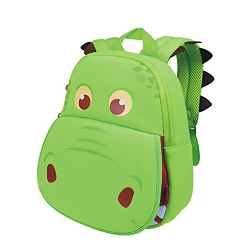 OFUN Cute Cartoon Dinosaur Backpack, Kindergarten Preschool Toy Backpack For Boys Girls Unisex, Waterproof Bag, Gift For Little Kids Toddler Children Baby Kiddos, Age 1-6