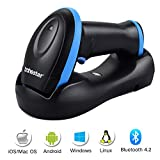 Portable Barcode Reader Work with Windows Android Trohestar Nuberopa N3 Mini Wireless Barcode Scanner 1D Compatible with Bluetooth Function /& 2.4GHz Wireless /& Wired Connection iOS Mac