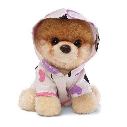 Gund  5 Itty Bitty Boo Dressed in Heart Hoodie Plush 4034207