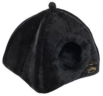Espacioso acogedor den en elegante – decorado W/un Crown – Reversible – Cojín bordado