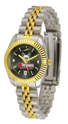 South Dakota Coyotes Ladies Executive AnoChrome Watch - Ladies Executive Anochrome Watch
