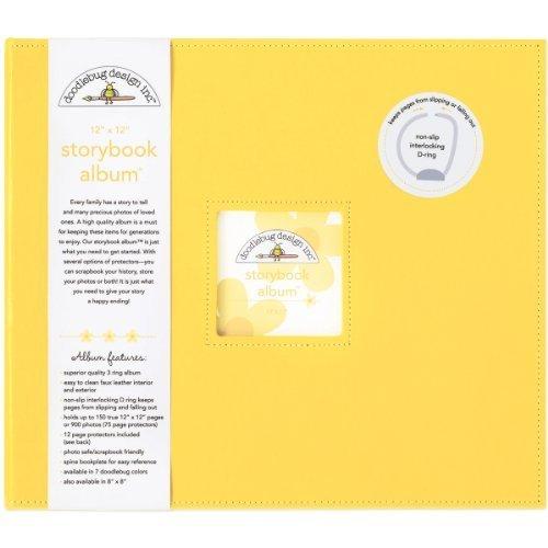 Doodlebug Design Bumblebee Storybook Albums, 12 by 12-Inch by Doodlebug Design, Inc