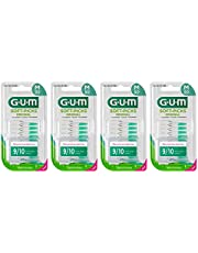 GUM SOFT-PICKS ORIGINAL Medium Interdentale Reiniger/Eenvoudige en zachte reiniging van de interdentale ruimtes/Comfortabel in gebruik/Grondige tandplakverwijdering / 4 x 50 stuks