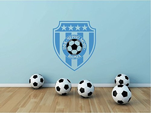 fan products of PFC Cherno More Varna Bulgaria Soccer Football Sport Art Wall Decor Sticker 25