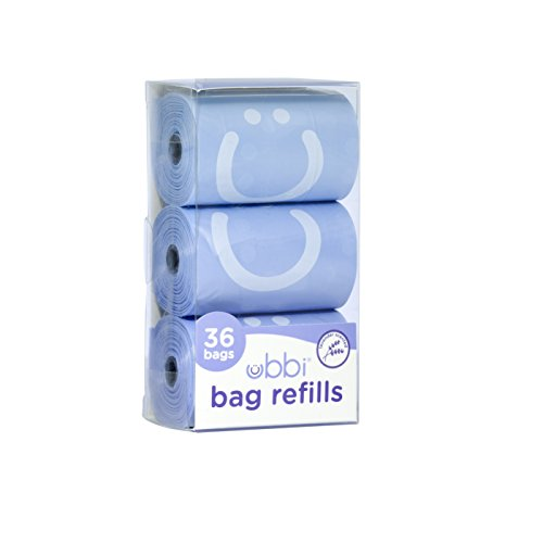Ubbi On The Go Waste Disposal Bags Refills, Lavender Scented, Baby Gift