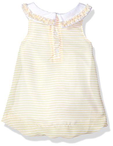 Disney Baby Girls Pooh Bubble Romper, Lemon Drop, 6-9 Months