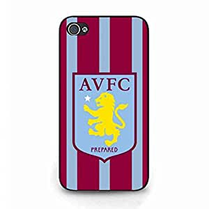 Aston Villa Football Team Cover Funda For IPhone 4/IPhone 4S TPU Aston Villa Football Team Cover,Aston Villa Football Team Phone Funda Cover