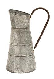 Plutus Brands Galvanized Watering Jug with Classic Design