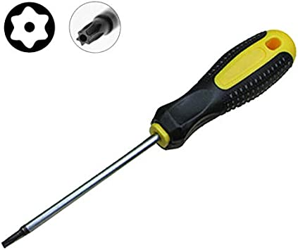 Autoly Magnetic T25 Torx Screwdriver with 3 Inch Steel Shaft