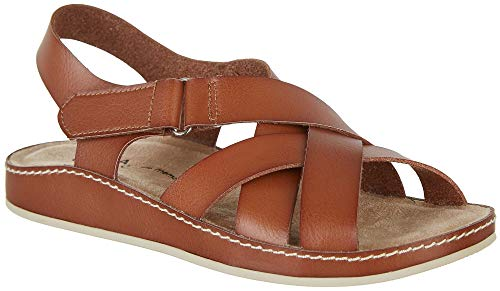 Mia Amore Womens Annalisee Sandals 8 Brown