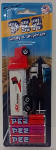 - Semi Truck Ace Hardware Candy Pez Blister Red White Dispenser by Pez Candy