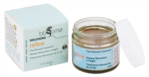 Blissoma-Solutions-natural-skincare-Refine-Clay-Renewal-Treatment-mud-restorative-organic-herbal-facial-mask-2-Oz-60-Ml