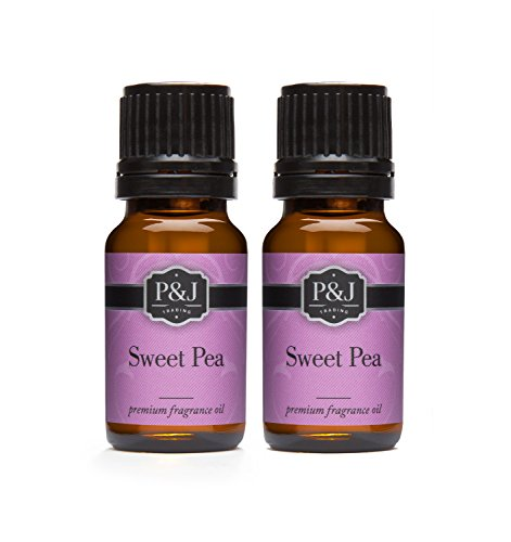 Sweet Pea Fragrance Oil - Premium Grade Scented Oil - 10ml - 2-Pack (Candle Sweet Scents)