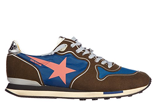 Golden Goose Damenschuhe Turnschuhe Damen Wildleder Schuhe Sneakers running blu