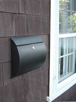 Wall Blk Mailbox (Spira Wall box BLK)