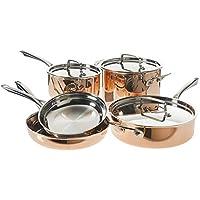 Cuisinart 8 Piece Copper Cookware Set