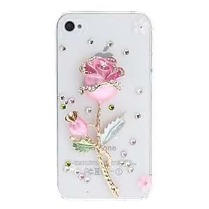 MOFY-Flor Rama repujado de nuevo caso para el iPhone 4/4S