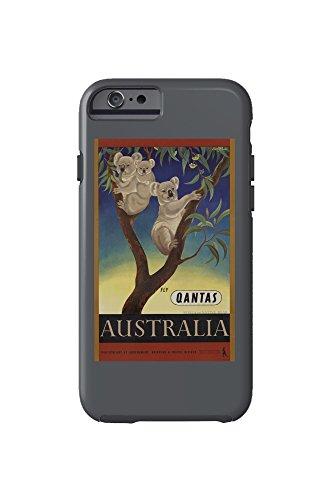 qantas-australia-vintage-poster-artist-mayo-eileen-australia-c-1953-iphone-6-cell-phone-case-tough
