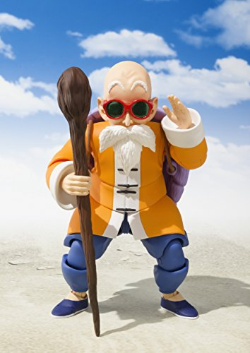Bandai Tamashii Nations S.H. Figuarts Master Roshi Action Figure,