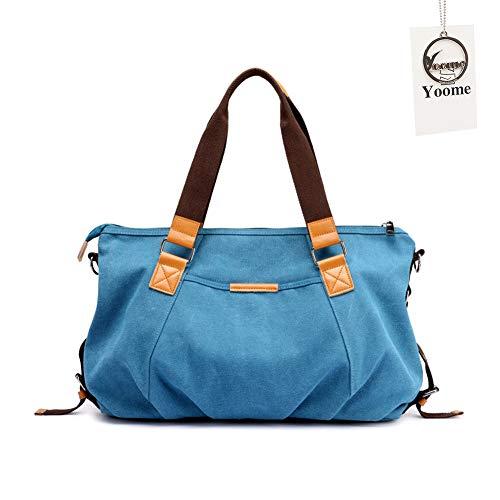 One para Yooluggage010 al Caqui Bolso Size Khaki Beige azul Hombro Mujer Yoome d7Xwzqnw