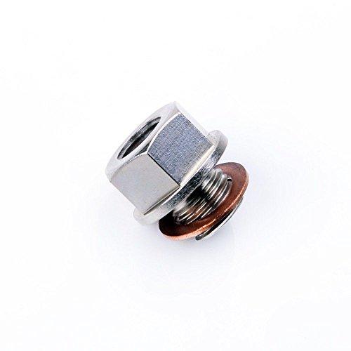[Turbochager Sensor Adapter Oil Water Boost Temp M12x1.25 To 1/8 NPT] (Oil Temp Sensor Adapter)