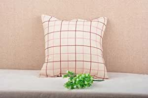 Classic Green and Red Plaid Pattern Pillow Decorative Pillowcase Throw Pillow Cushion Cover Flower Pattern Design Cushion Cover Pillow Case Collection